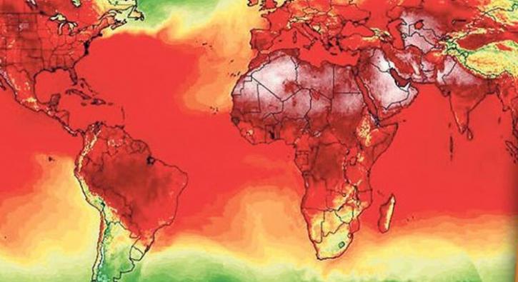 NASA'nın son yayınlandığı harita korkuttu!