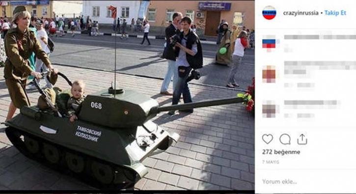 Rus kadın asker bunu yaptı! Sosyal medya yıkıldı
