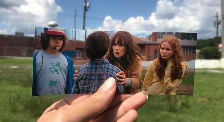 Stranger Things dizisinin çekildiği yerleri buldular! Gerçekte nasıl gözüküyor?