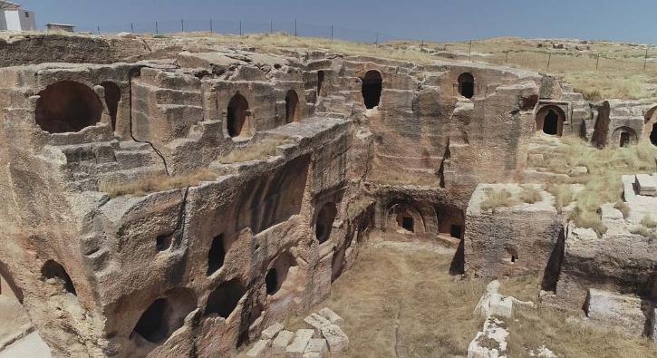 2300 yıl öncesine dayanıyor... Havadan görüntülendi!