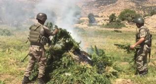 Diyarbakır'da PKK'ya ait sığınaklar imha edildi