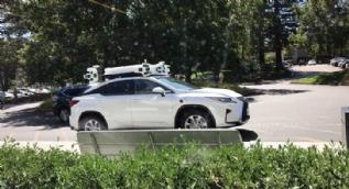 Apple'ın sürücüsüz arabası böyle görüntülendi