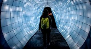 Kolombiya'da ışıklandırma festivali: Işık ve gölgenin dansı