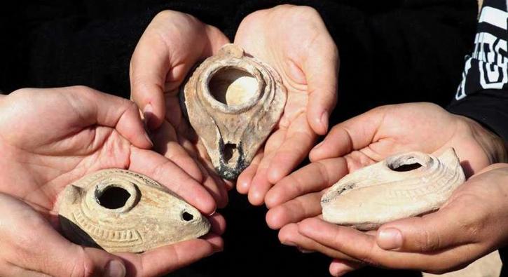 Roma dönemine ait, bin 500 yıllık... 48 adet bulundu