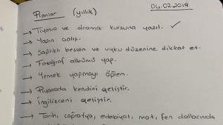Ceren'in hayalleri, kaleme aldığı notlarda kaldı