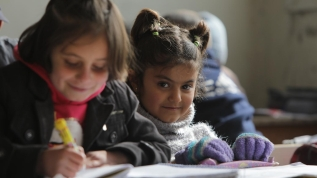 Barış Pınarı binlerce miniğin terörle kararan geleceği ışık oldu