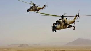 ABD'nin Rus Mi-24 helikopterlerini kullandığı ortaya çıktı
