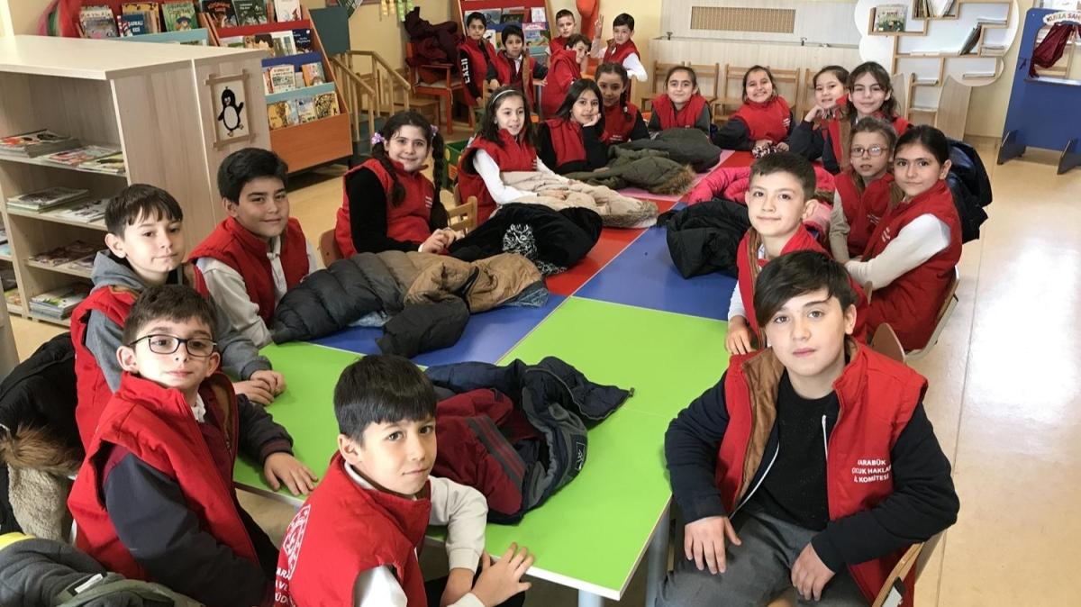 Türkiye'nin ilk 'çocuk hakları köşesi' Karabük'te açıldı