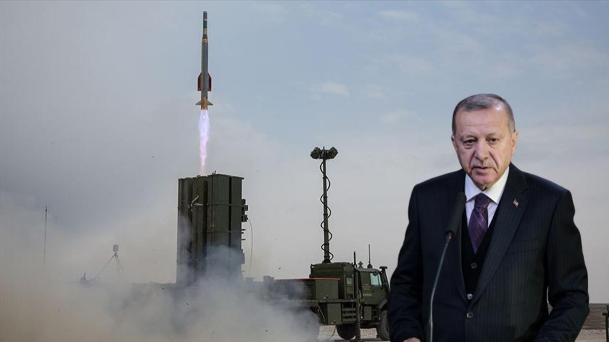 Başkan Erdoğan, 'Suriye sınırımıza yerleştireceğiz' dedi! İşte Hisar-A sistemi
