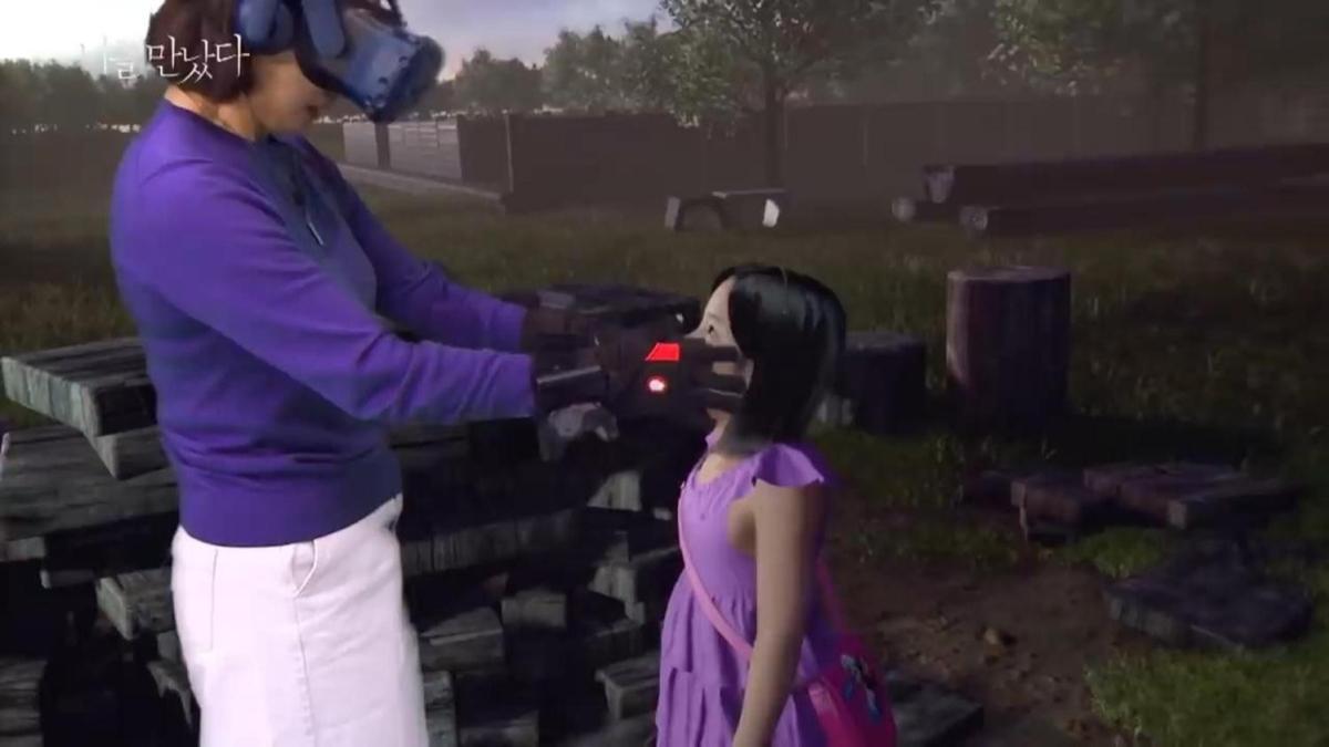 Gözyaşlarını tutamadılar! Ölen kızının 'sanal gerçeklik'teki görüntüsüyle görüştü