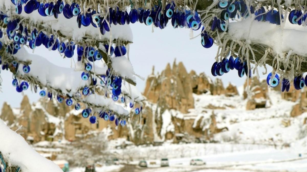 Kapadokya'da 'beyaz masal'