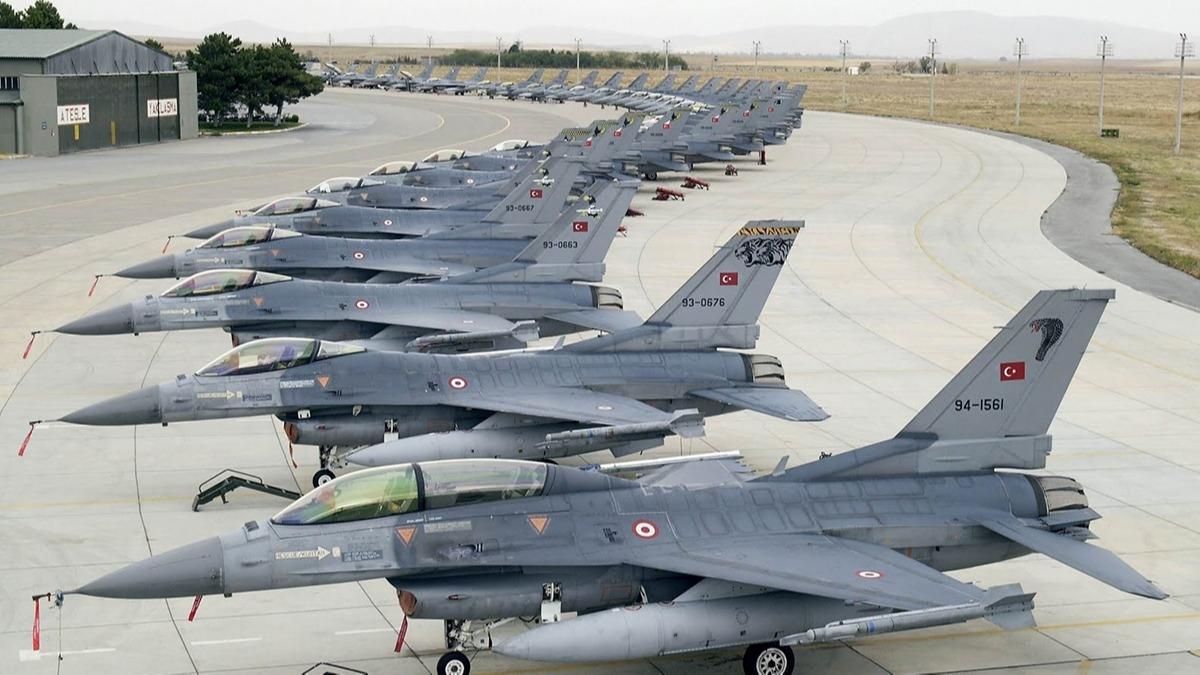 Türkiye'nin kaç tane savaş uçağı var? Ülkelerin savaş uçağı sayısı