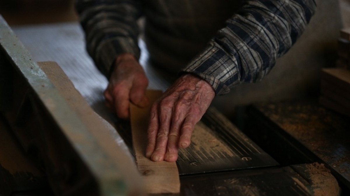 74 yılını ve 10 parmağını bu işe adadı!