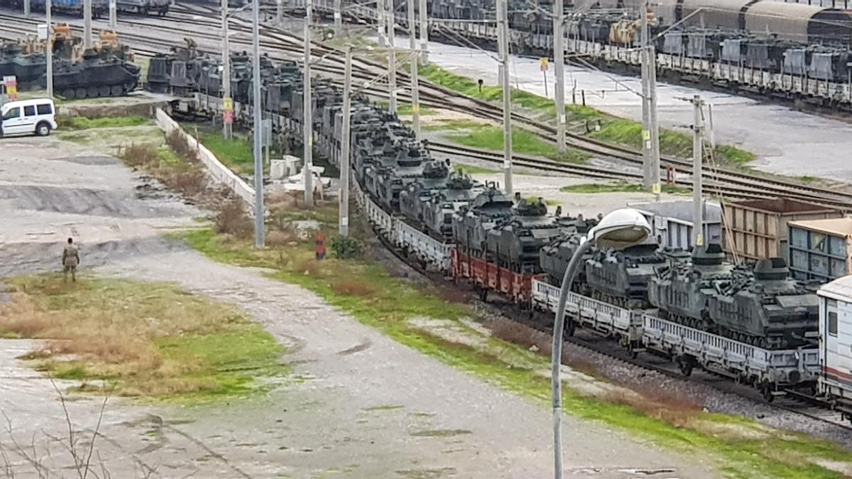 43 vagon ZPT İskenderun Garı'da!