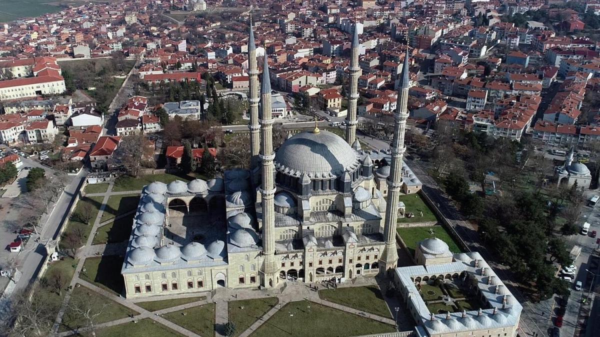 500 yıl içinde olabilecek depremlere de dayanıklı: Selimiye Camisi
