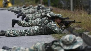 Venezuela'da askeri tatbikat