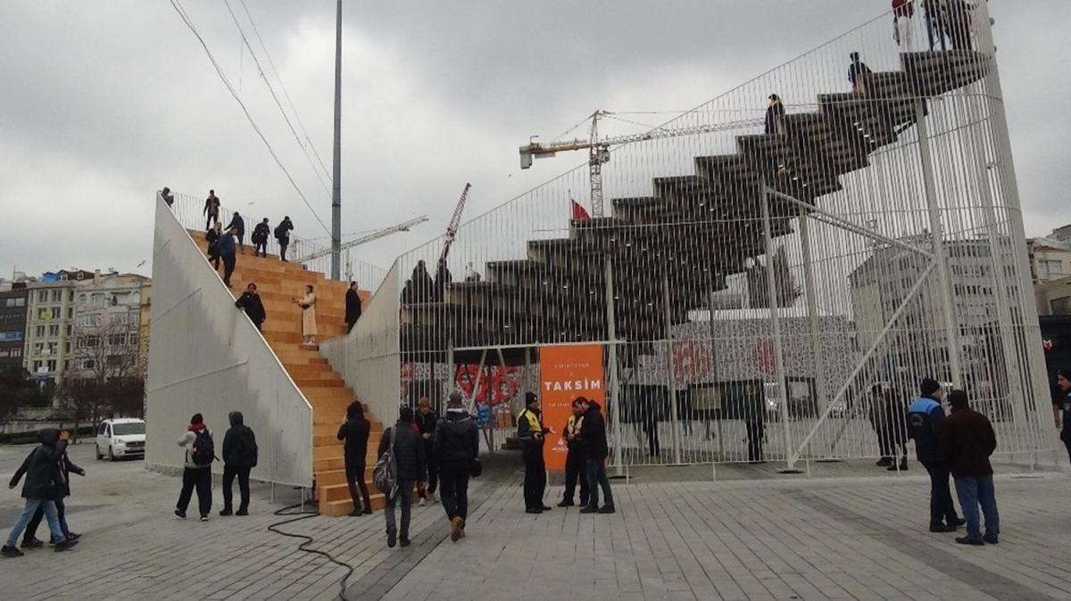 Taksim Platformu'nun bütçesine vatandaşlardan tepki