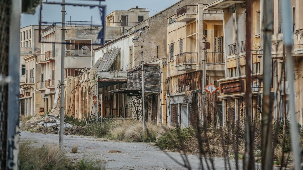 46 yıldır sivillerin girişi yasak... Adeta film sahnelerini andırıyor