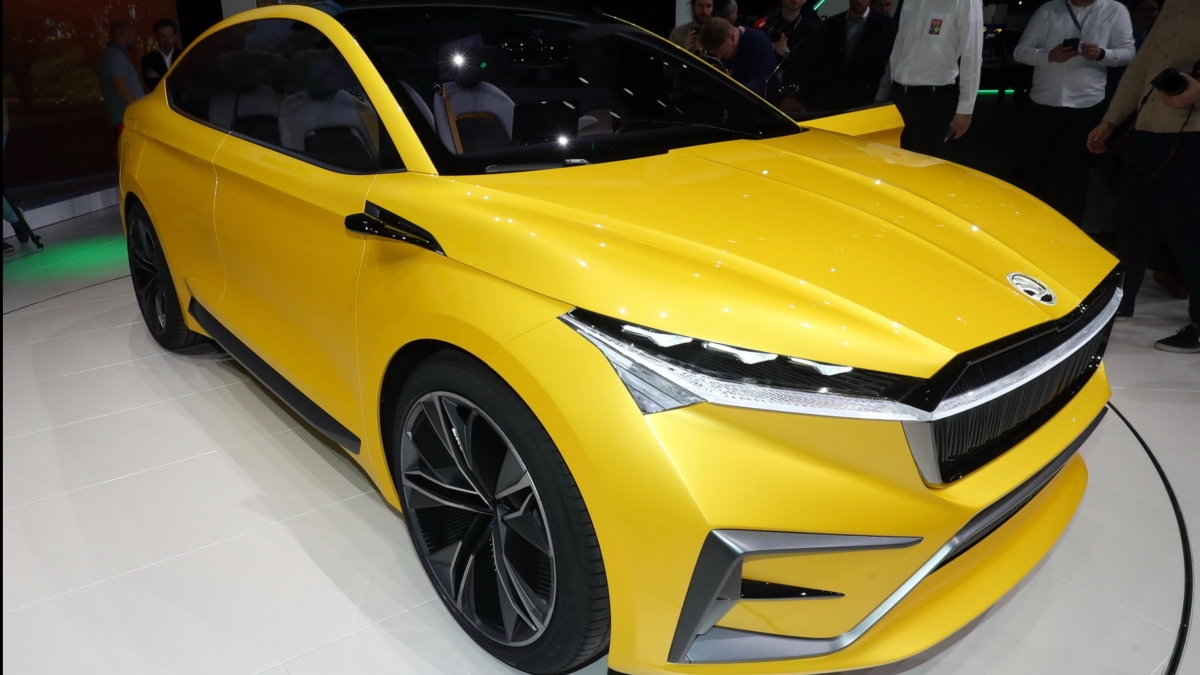 "Skoda elektrikli SUV modeline ""Enyaq"" adını verdi"