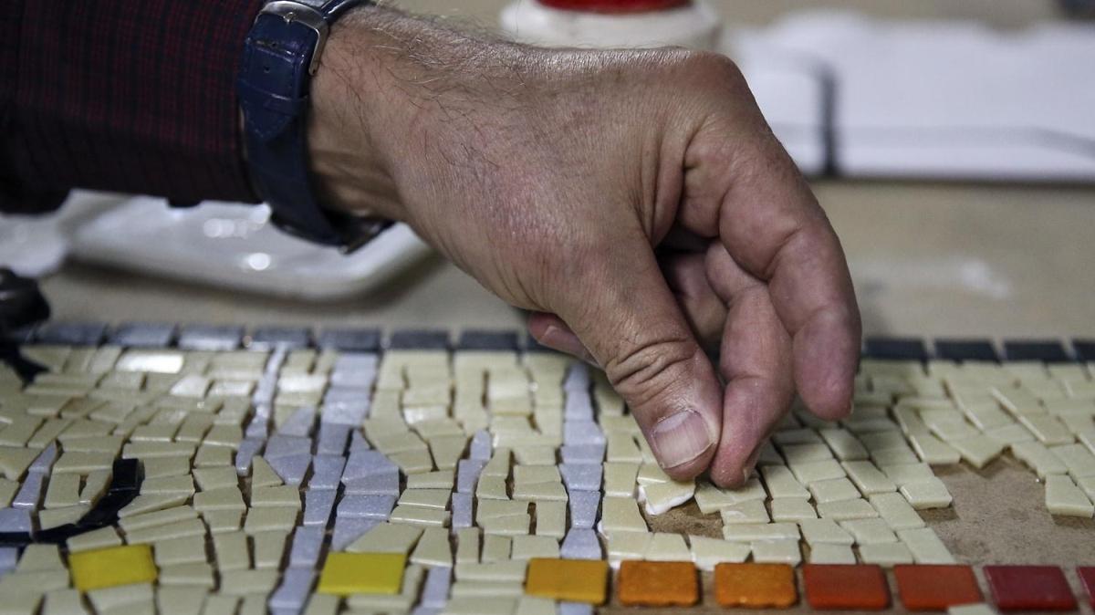İstanbul'u mozaikle dünyaya tanıtacak