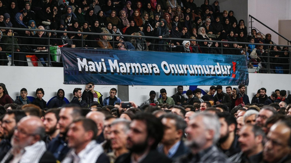Kudüs ve Mavi Marmara şehitleri için İstanbul'da anma programı düzenlendi