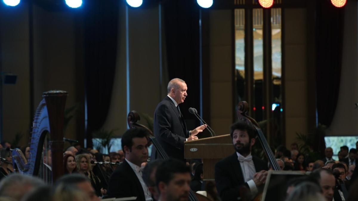 Ankara'da tarihi gün! Açılışını Başkan Erdoğan yaptı