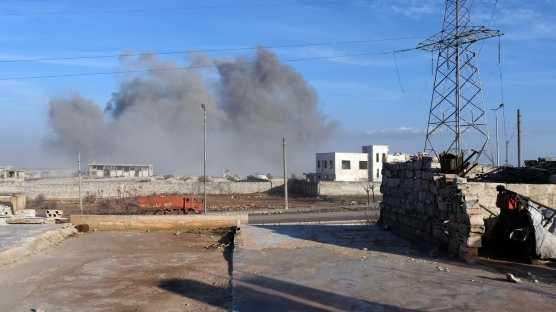 İdlib'in güneyinde rejim unsurları vuruluyor