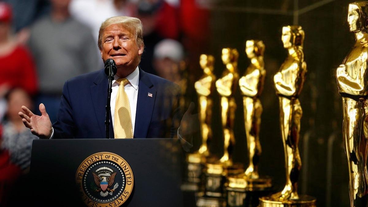 Trump, Oscar'ı topa tuttu: Bu neydi şimdi?