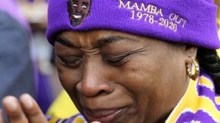 Kobe Bryant'ı hayranları yalnız bırakmadı