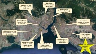 İstanbul'un 10  'kaza sıcak noktası' tespit edildi