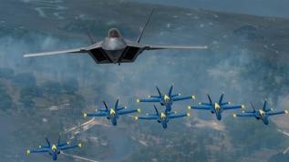 ABD yakın müttefiklerine bile satmıyor! İşte F-22 Raptorlar