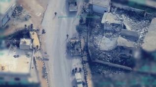 TSK İdlib'deki rejim militanlarını böyle vurdu