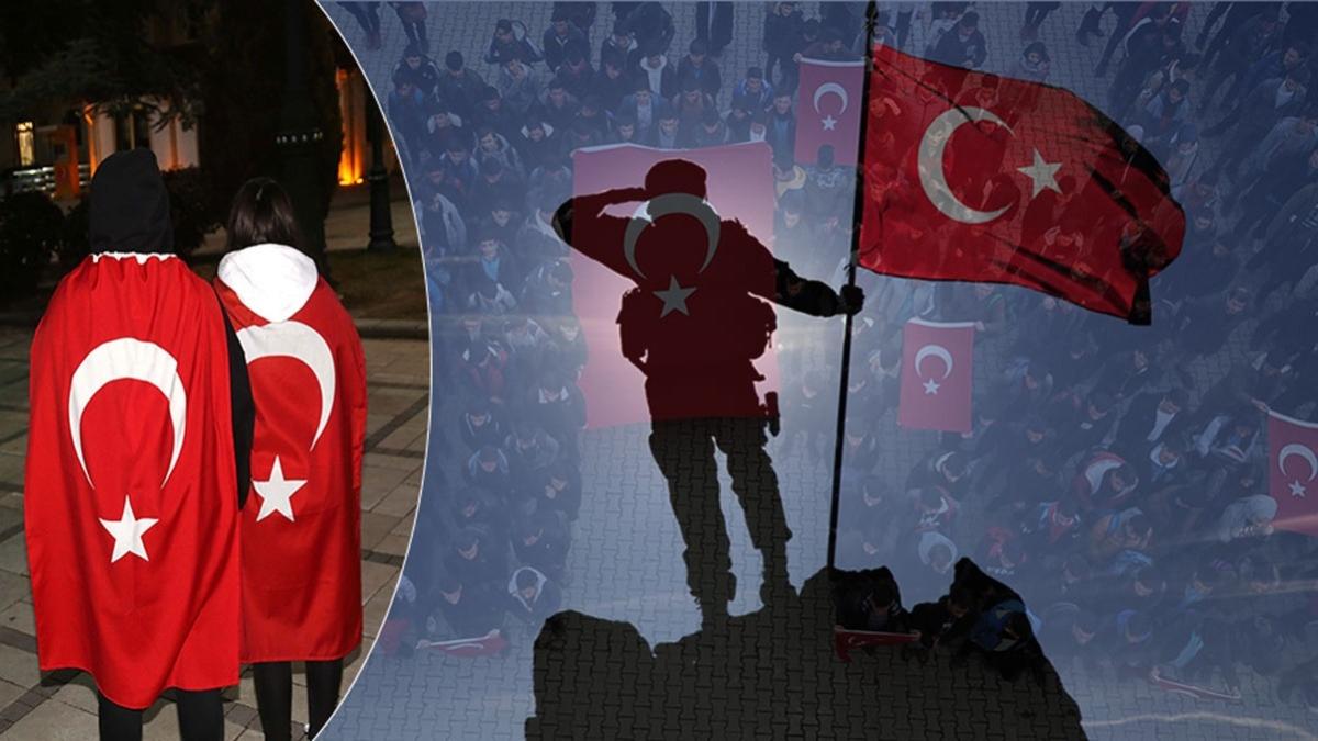 Türkiye tek yürek oldu!