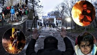 Akın akın gidiyorlar: Yunanistan'dan mültecilere 'jiletli' önlem