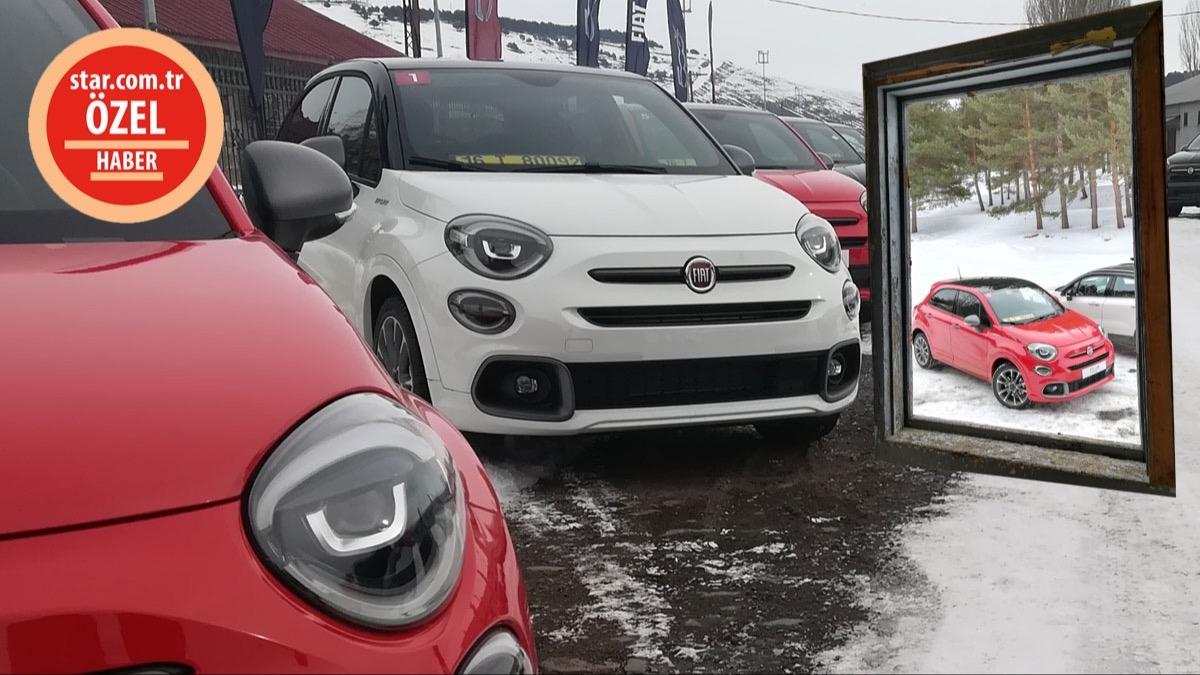 Yeni Fiat 500X'i Kars Sarıkamış'ta kullandık
