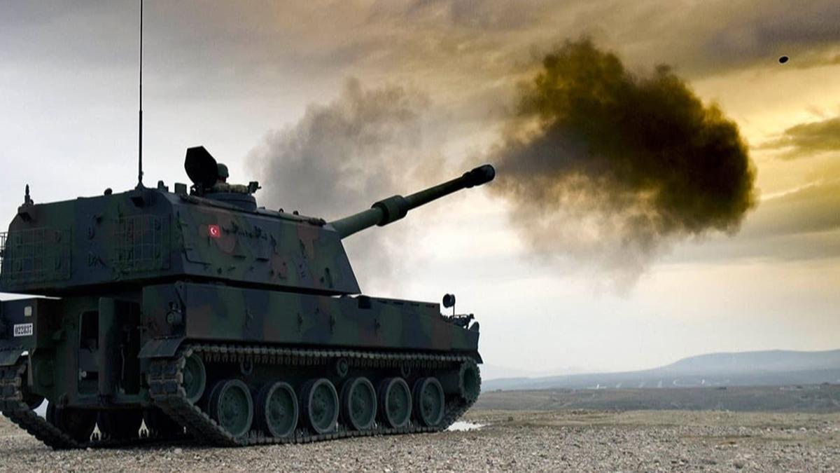 İşte Bahar Kalkanı'nda düşman cephesine ateş yağdıran 'Fırtına Obüsü'