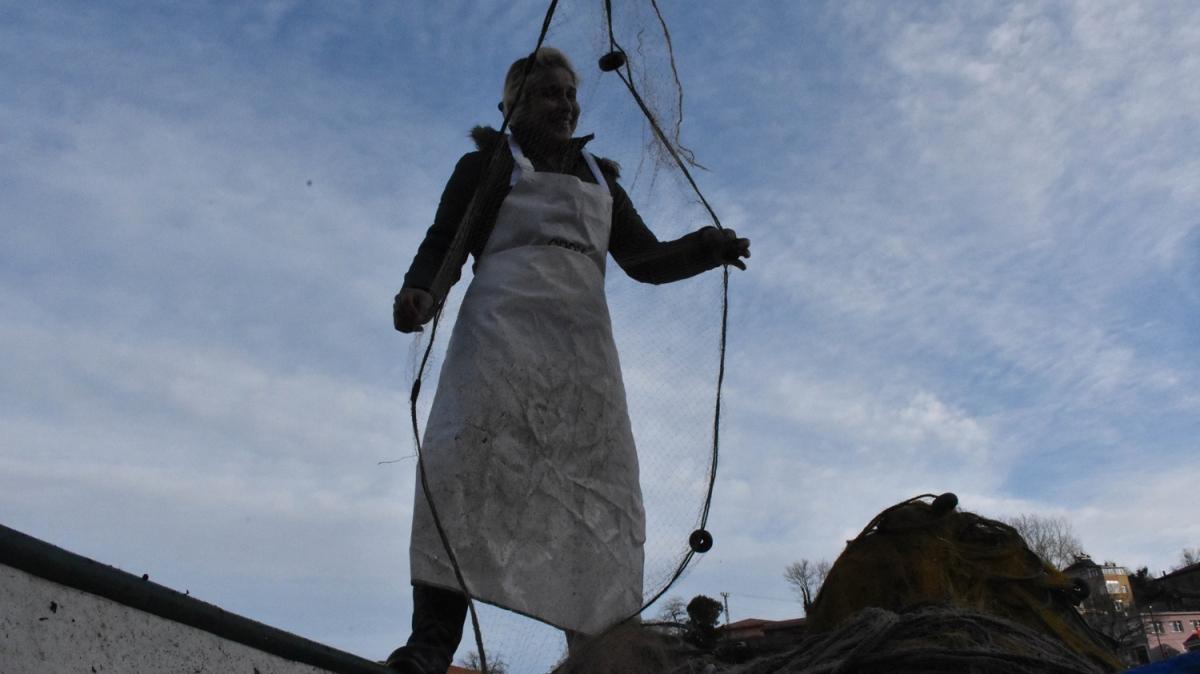 Karadeniz'in kadın reisleri, her sabah nasibine ağ atıyor