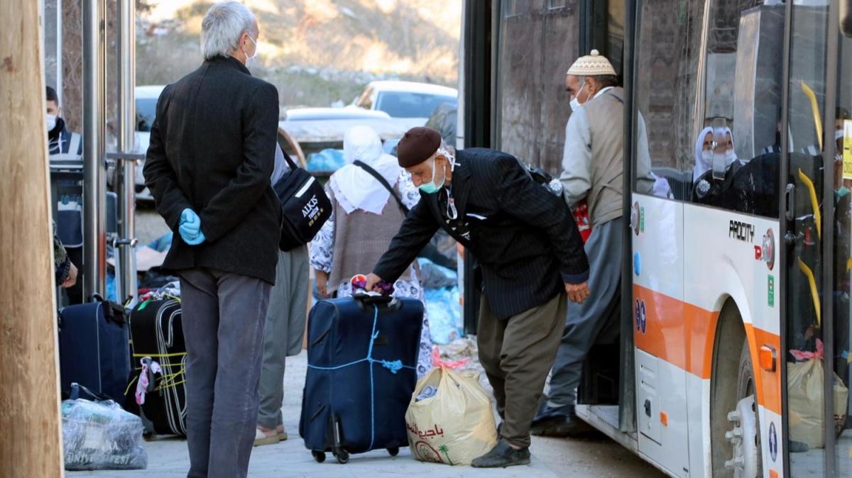 Umreciler Eskişehir'de gözlem altında