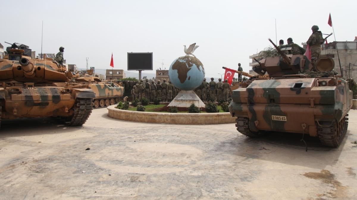 Zeytin Dalı Harekatı'nın ikinci yıl dönümü