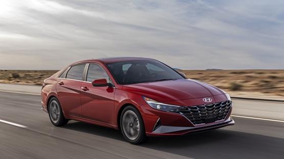 Güney Koreli üretici Hyundai, yedinci nesil Elantra'yı tanıttı