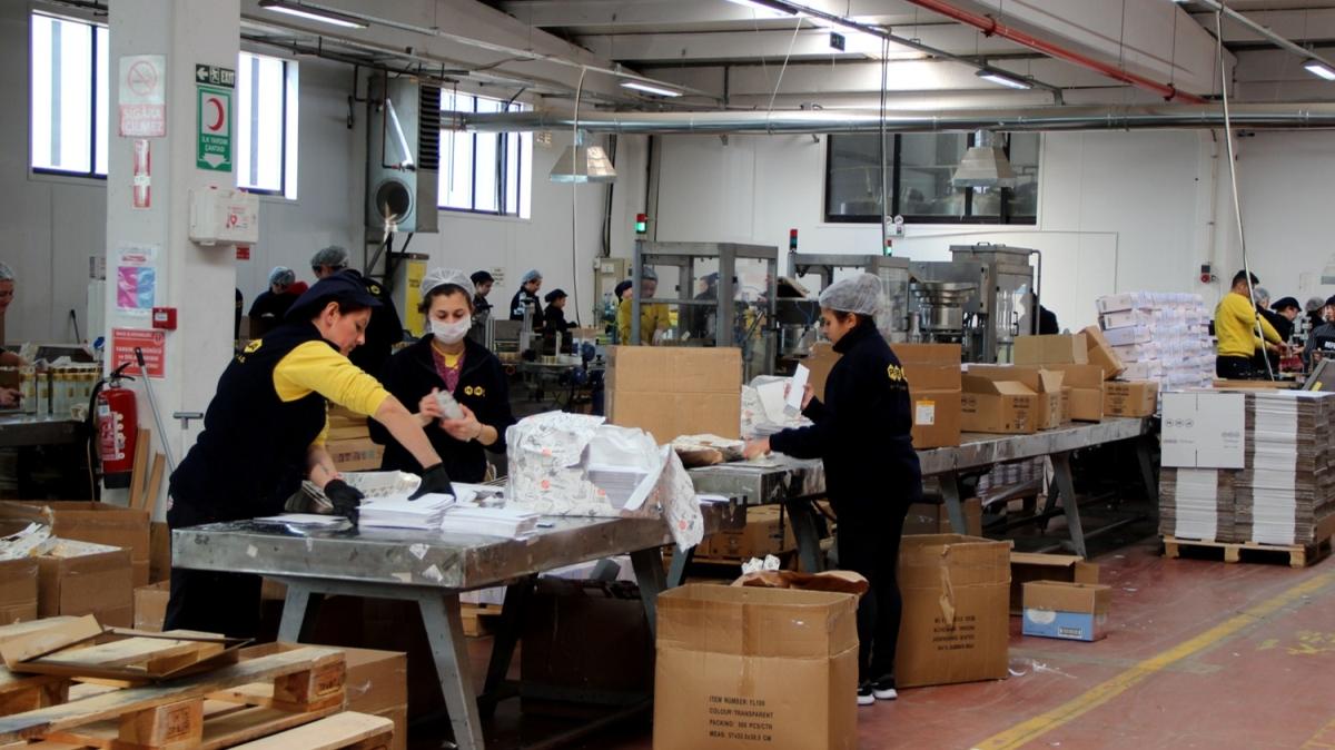 Fabrika tam kapasite çalışıyor: Devletimiz ham madde sağlıyor