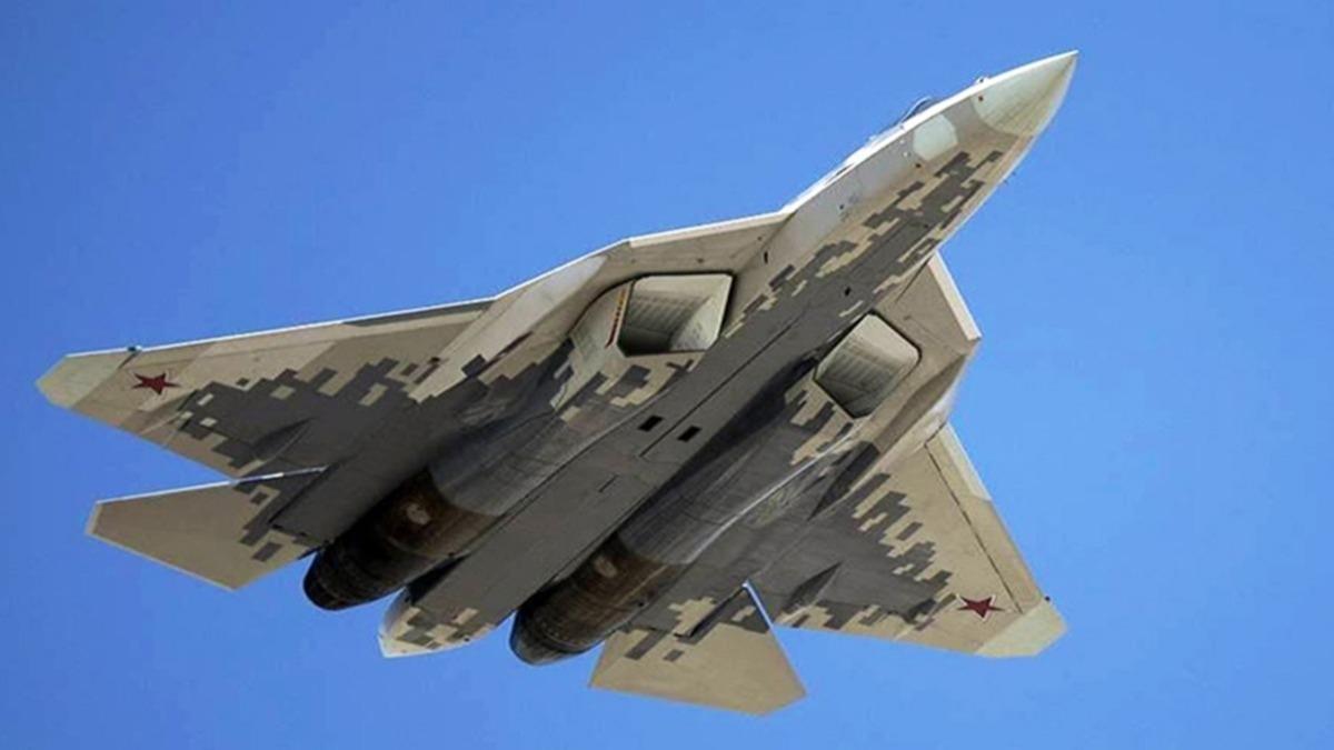 Su-57 en ağır yük, maksimum irtifa ve hızda uçtu