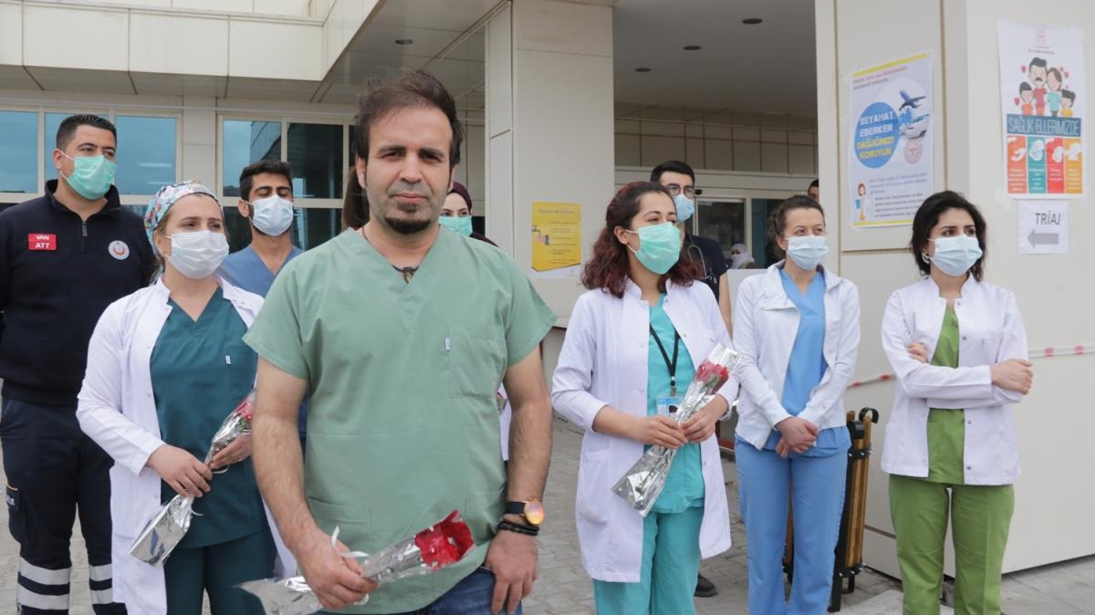 Sağlık çalışanlarına böyle teşekkür ettiler