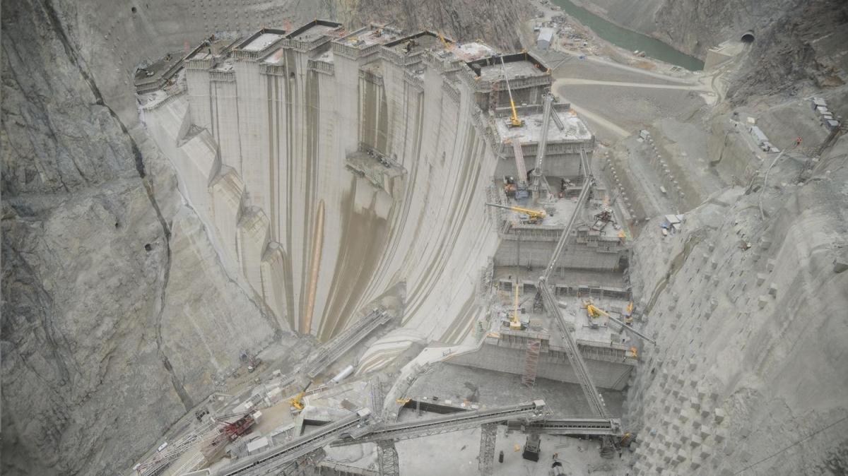 Türkiye'de bir ilk olacak: 193 metreye ulaşıldı