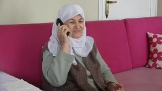 80 yaşındaki Samiha nine: Cumhurbaşkanımız sesini duyunca ne söyleyeceğimi bilemedim