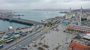 Görüntüler bugünden… İstanbul sokaklarında koronavirüs sessizliği