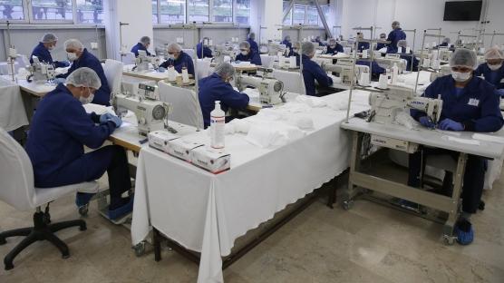 Günde 100 bin maske üretiyorlar