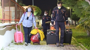 ABD'den gelen 210 kişi Manisa'daki yurtta karantinaya alındı