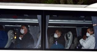 Yurt dışından gelenler Muğla'da yurda yerleştirildi