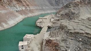 Baraj suları çekilince yeniden ortaya çıktı